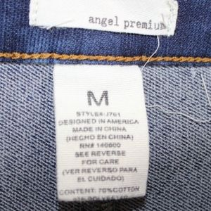 Angel Premium Skirts - 💘 Angel Premium Women's Jean Mini Skirt Buttons